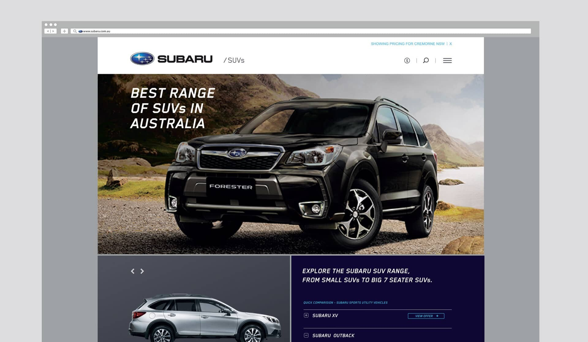 web design sydney and melbourne