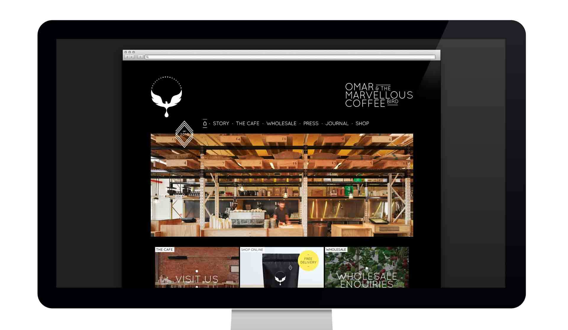 branding company ecommerce website design